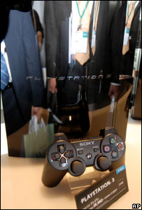 PlayStation 3 on display, AP
