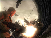 Screenshot from Resistance: Fall of Man (Sony)