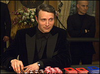 Mads Mikkelsen in Casino Royale