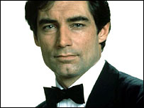 Timothy Dalton as James Bond (UIP)