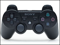 Sixaxis controller, Sony