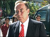 Richard Ness arrives in court on 10 November 2006
