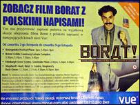 Borat ad
