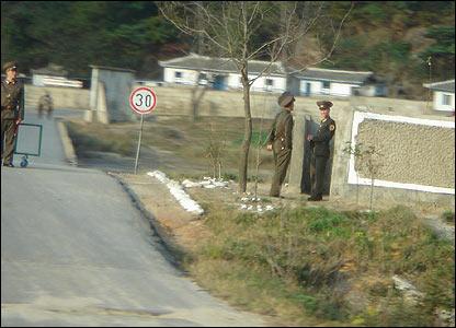 Soldados en la Zona Desmilitarizada