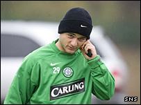 Celtic's Shaun Maloney
