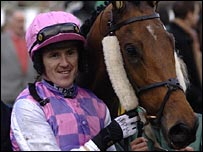 Tony McCoy and Exotic Dancer