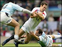 England fly-half Charlie Hodgson