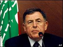 Prime Minister Fouad Siniora