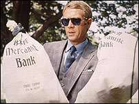 Steve McQueen in the Thomas Crown Affair