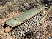 Bombas de racimo en Líbano