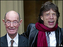 Joe and Mick Jagger
