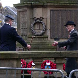 Stirling war memorial. Pic by Duncan Kirkhope.
