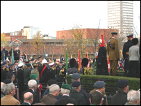 Remembrance Service at Sunderland