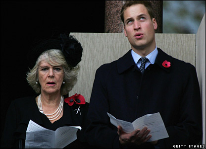 Prince William and the Duchess of Cornwall