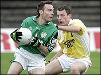 Cargin and Clontibret fought out a draw at Casement Park