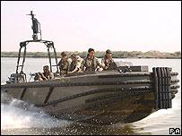 Boat on Shatt al-Arab