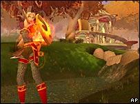 Кадр из The Burning Crusade, планируемого продолжения игры World of Warcraft