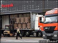 Farepak depot in Swindon