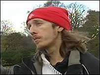 Jim Dunkley, protester