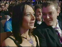 Kate Dickie at the ceremony