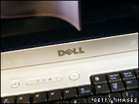 Dell laptop, Getty