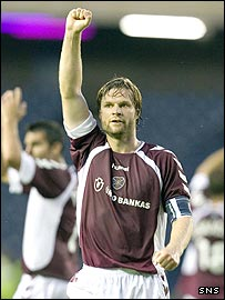 Steven Pressley is no longer the captain at Hearts