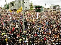 Rally in Melbourne, 15 November 2005