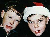 David Spencer (left) and Patrick Warren - _42312204_missing_boys203
