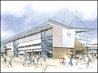Plans for Colchester's new Community Stadium