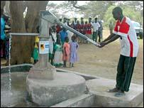 Water pump (Image: BBC)
