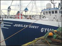 Jubilee Quest trawler