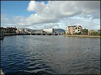 Laganside in Belfast