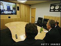 Tony Blair appearing before ISG via video link