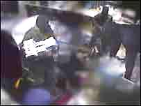 CCTV image of robbery