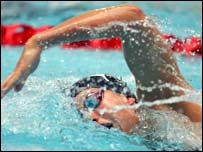 Swimming graphic