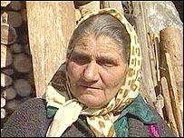 Bulgarian villager Donka Kiricheva
