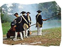 American Revolution re-enactment