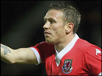 Wales striker Craig Bellamy was relieved to end his goal drought