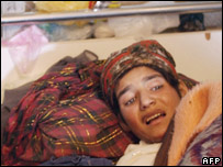 Thirteen-year-old Marjan, who attempted suicide by burning herself alive in a hospital bed in Herat
