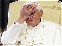 El Papa Benedicto XVI (foto de archivo)