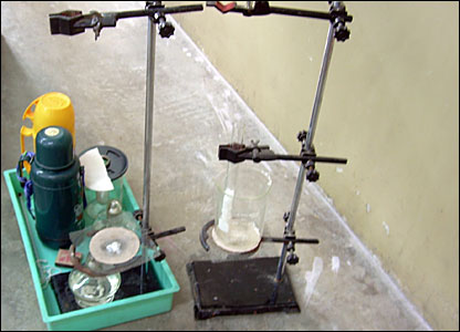 Equipment for the science class