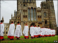 Ely boys' choir