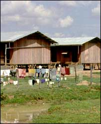 Thai refugee camp
