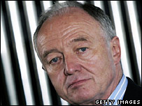 London mayor Ken Livingstone