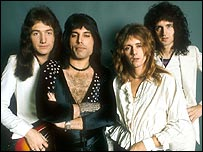 Queen in their 1970s heyday