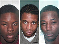 Gang of violent street robbers who were jailed on Monday