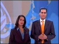 Al-Jazeera English presenters