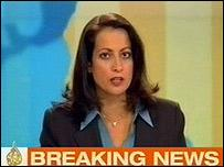 The station's first breaking news story