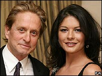 Michael Douglas and Catherine Zeta Jones