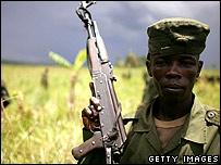 DR Congo solider